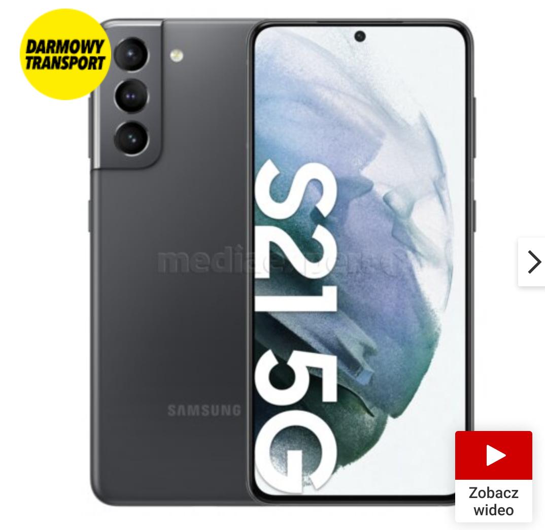Smartfon SAMSUNG Galaxy S21 5G + galaxy buds pro za 3200zł