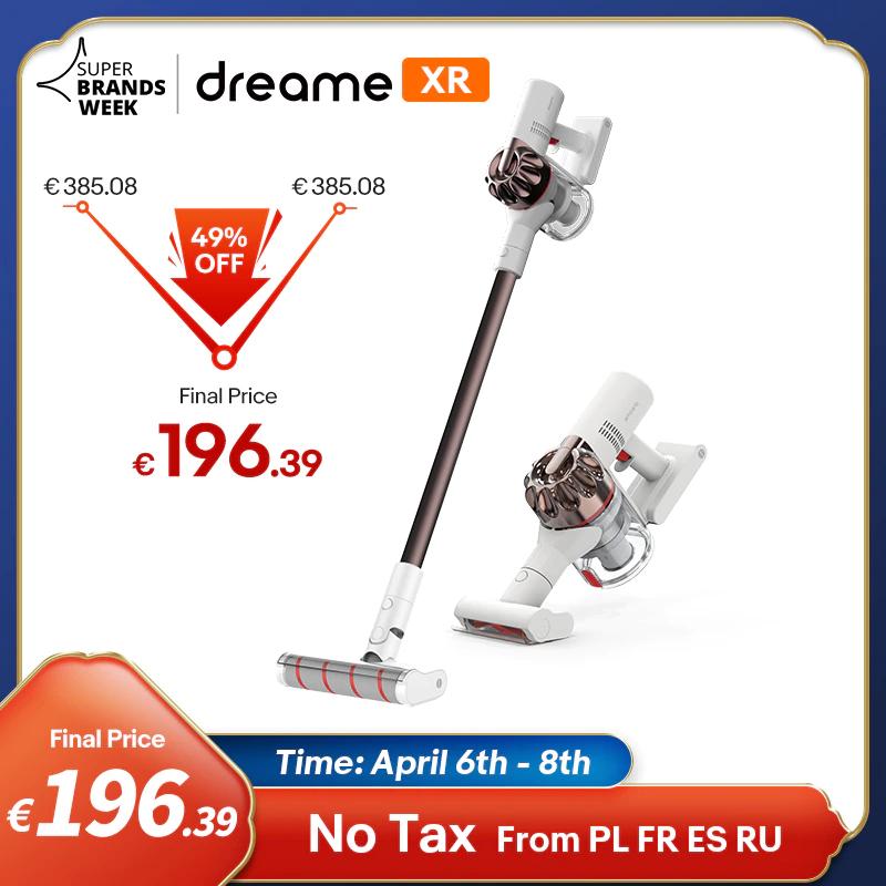 Dreame XR Premium ręczny odkurzacz bezprzewodowy - $210.85 i darmowa wysyłka z Francji