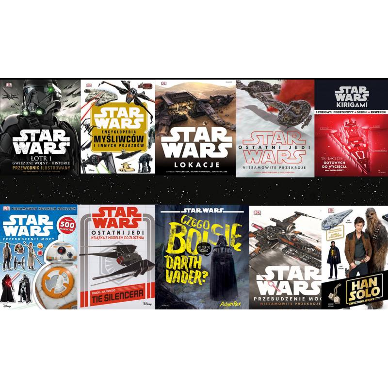 Star Wars Pakiet 10 książek i przewodników
