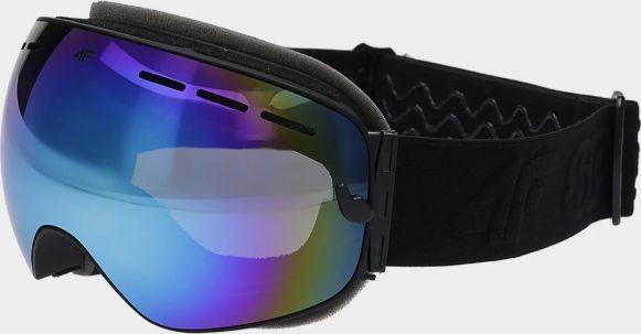 4F Gogle narciarskie GGM062 czarne sklep presto   Darmowa dostawa z wykupionym MAXem