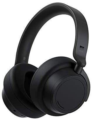 Bezprzewodowe słuchawki Microsoft Surface 2 z aktywną redukcją hałasu, czarne (Amazon.de)