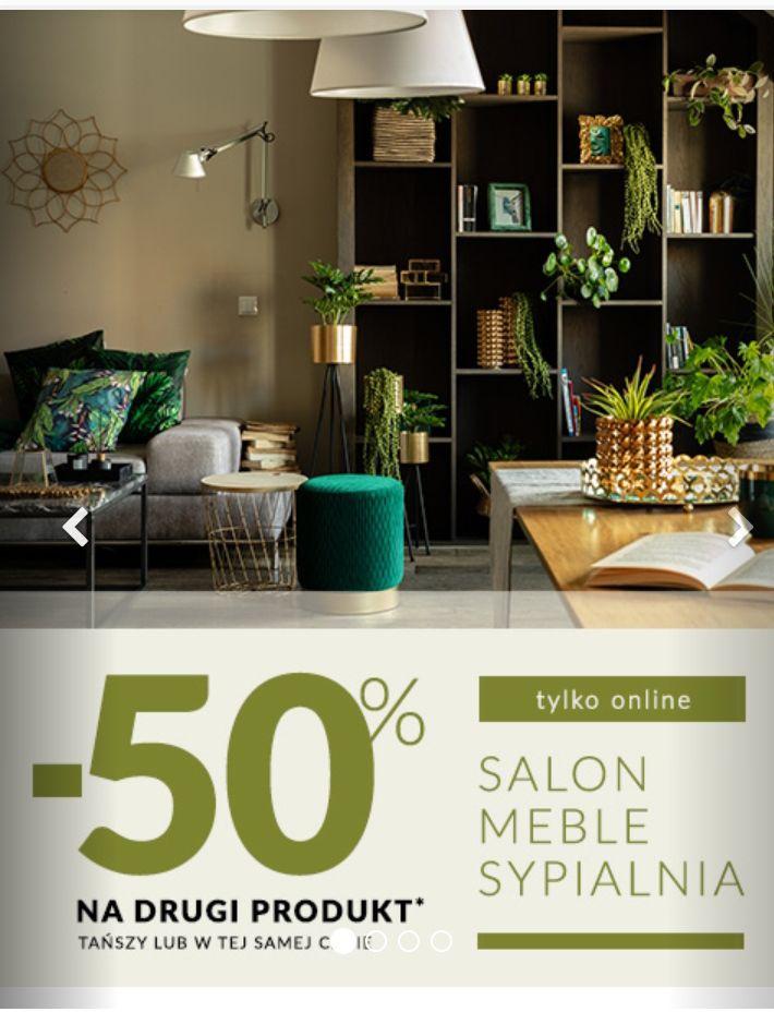 Homla, -50% na drugi produkt