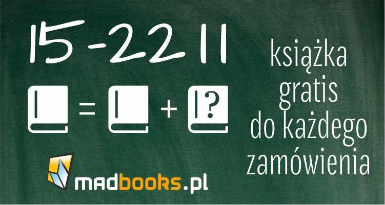 Książka w prezencie do każdego zamówienia @ madbooks.pl