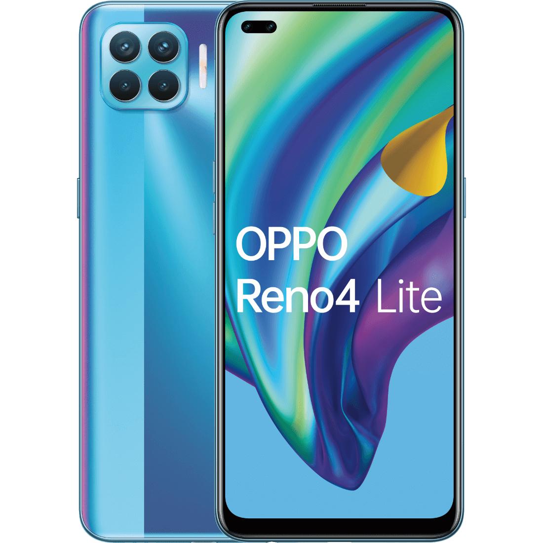 Smartfon OPPO Reno4 Lite 8/128 niebieski, biały i czarny