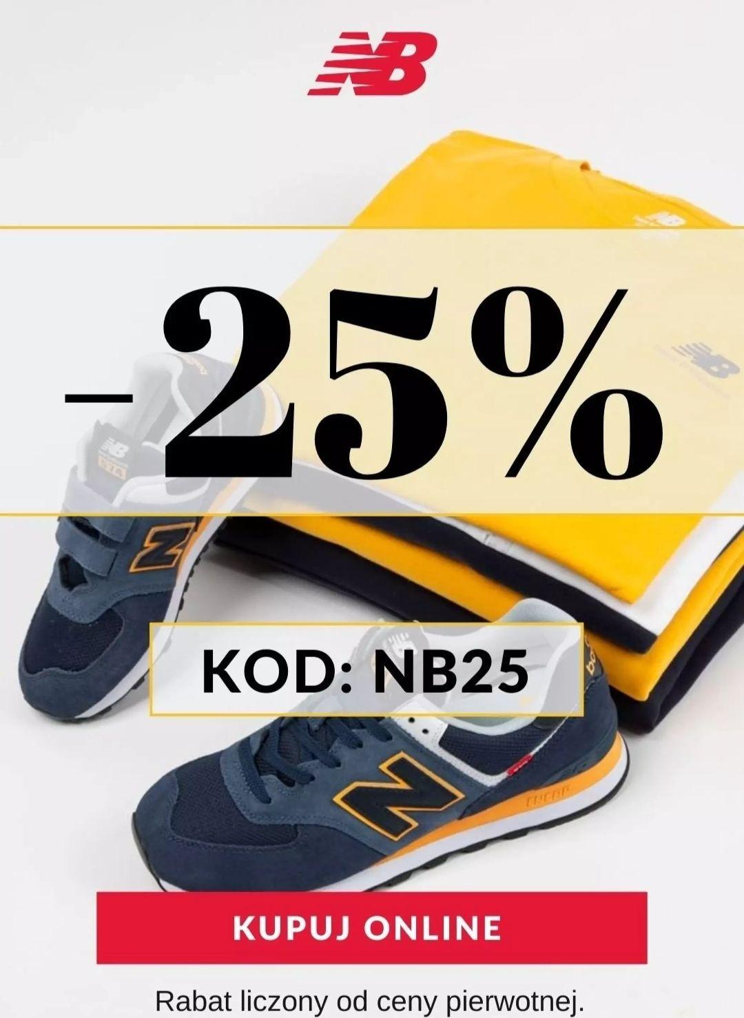 New Balance - 25%
