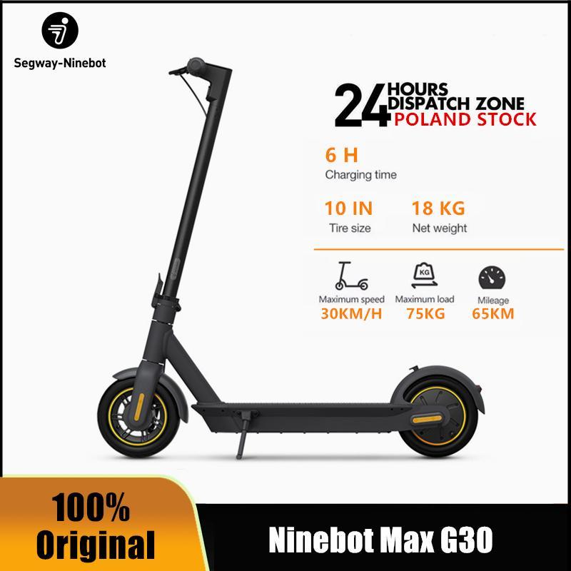 Hulajnoga elektryczna Ninebot MAX G30 (zasięg do 65km!) - wysyłka z PL @ DHgate