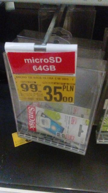 Karta Pamięci MicroSD 64GB