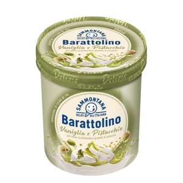 Prawdziwe włoskie lody Pistacjowe Barattolino!!!