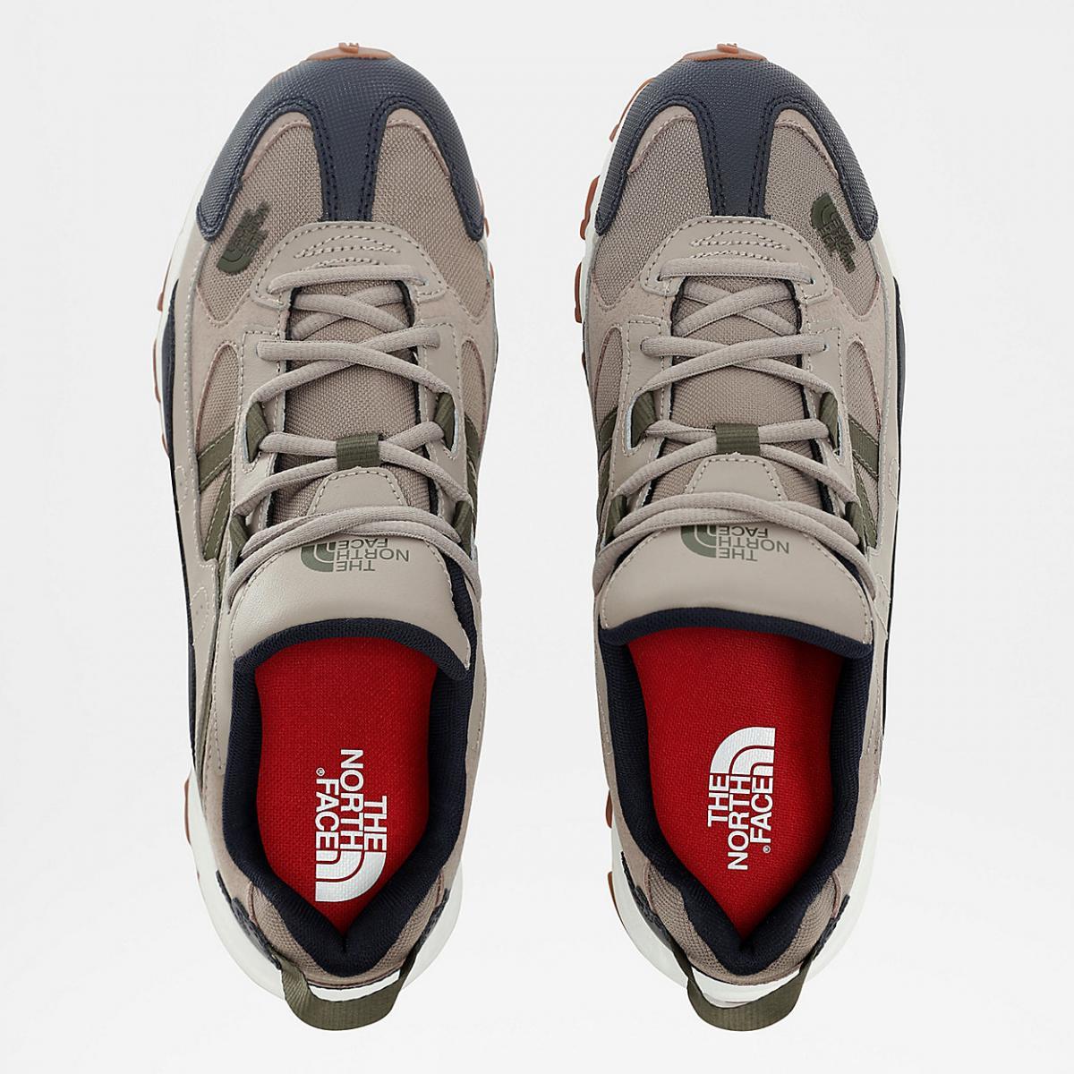 Męskie buty trailowe The North Face Fire Road vintage khaki/urban navy