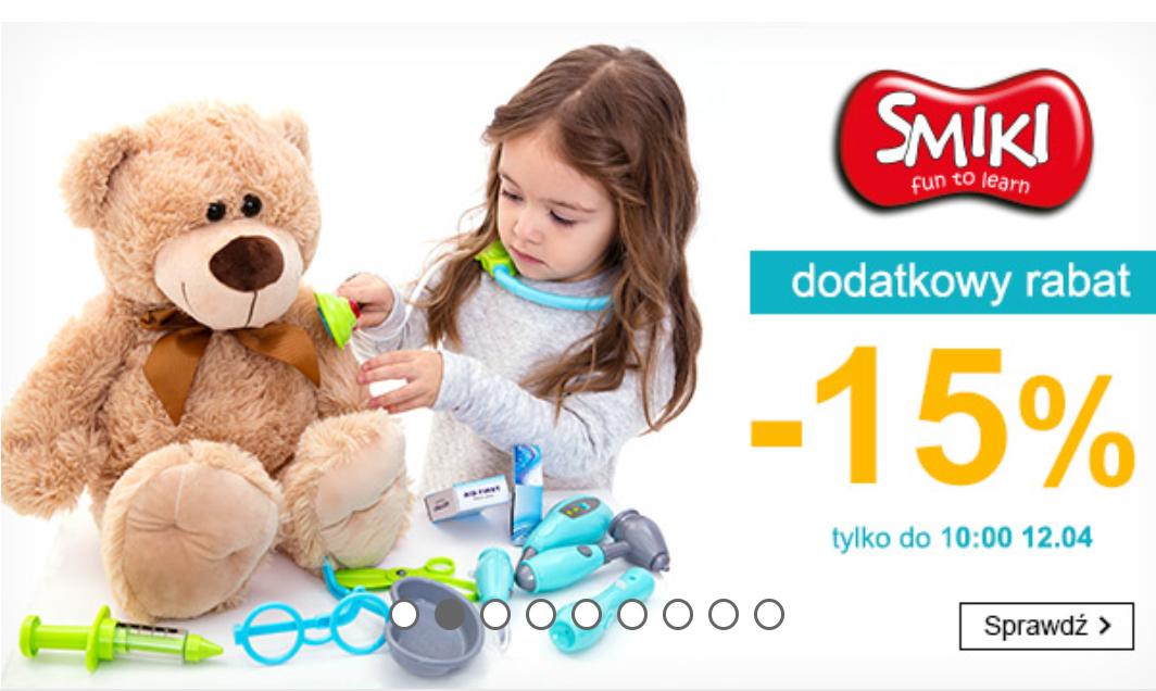 Smyk - zabawki Smiki -15%
