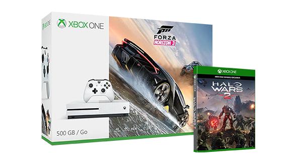 Xbox One S 1TB + Forza Horizon 3 + Halo Wars 2 za ~1320zł z darmową dostawą @ Microsoft.uk