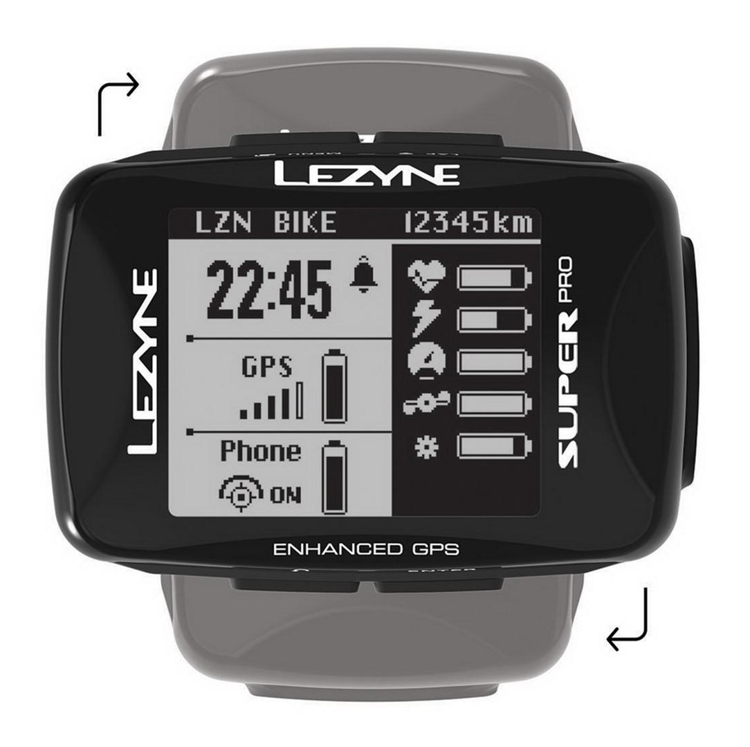 Nawigacja rowerowa -Licznik LEZYNE Super Pro GPS