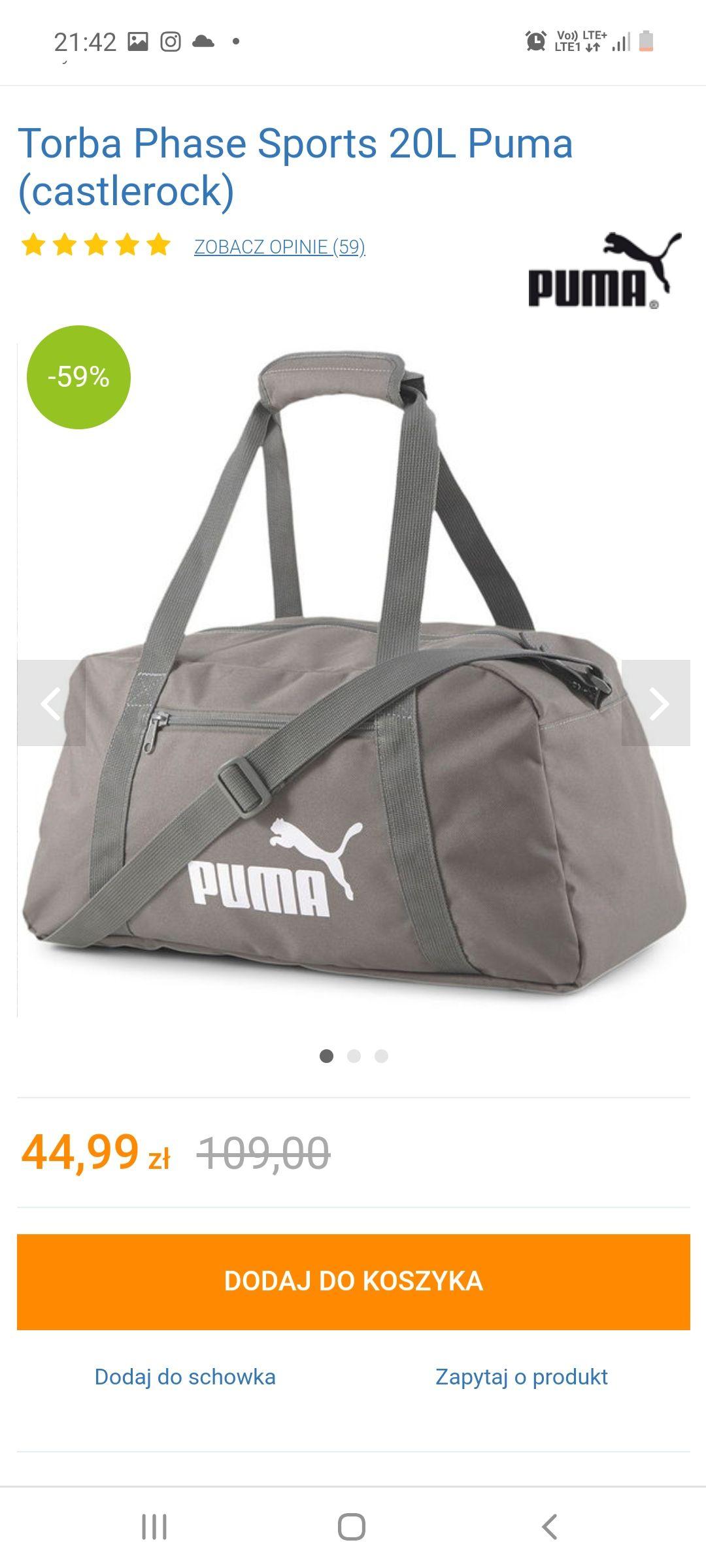 Torba Phase Sports 20L Puma (castlerock)