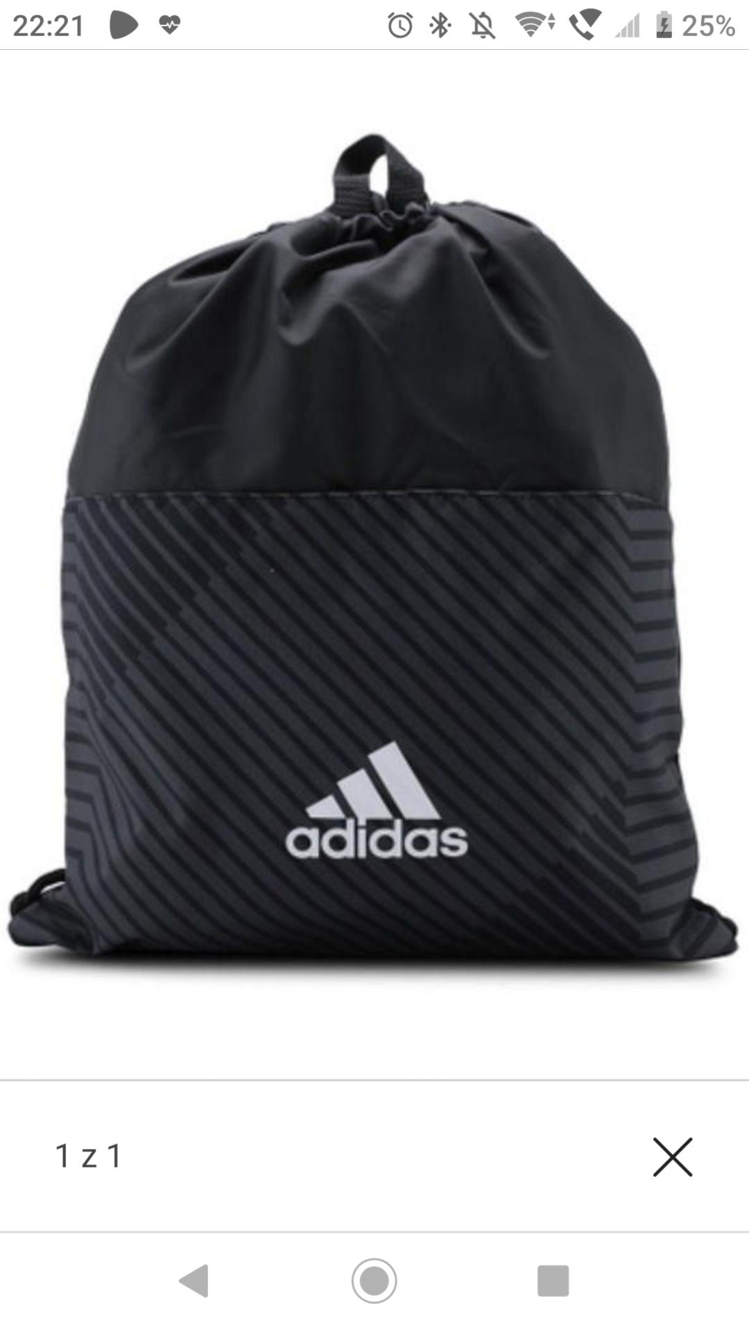 Worek 3-Stripes Gymbag Adidas