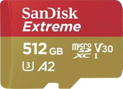 Karta pamięci microSDXC SanDisk Extreme 512 GB