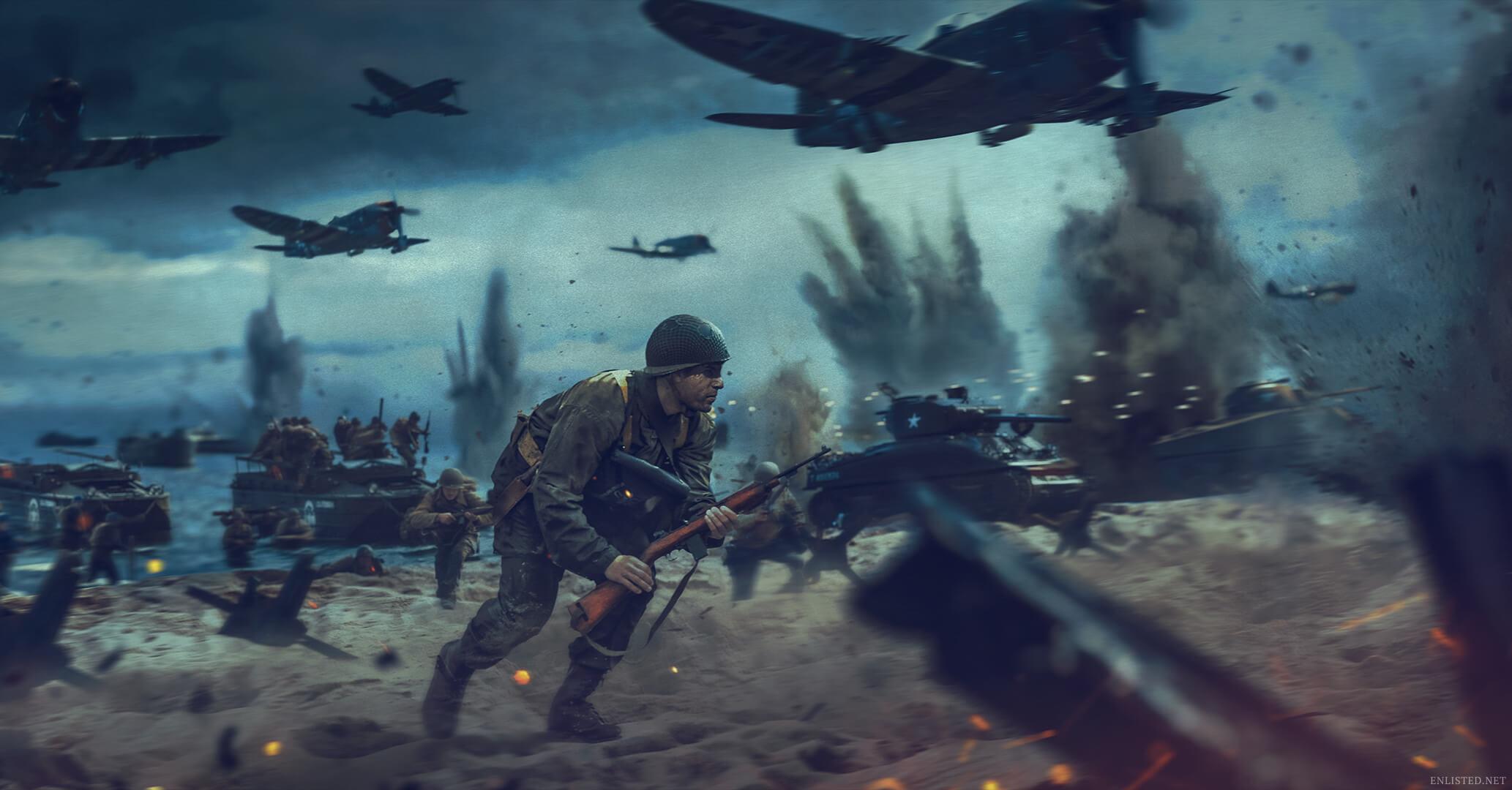 Enlisted Nowa darmowa strzelanka na PS5,PC,Xbox Series X|S