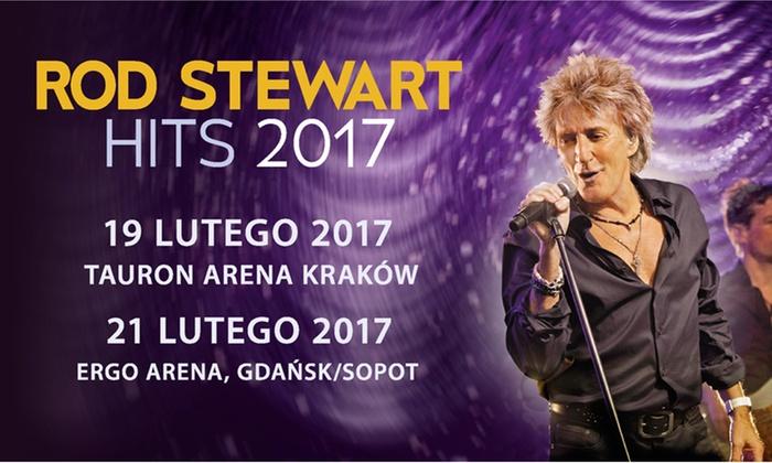 Bilet na koncert Roda Stewarta
