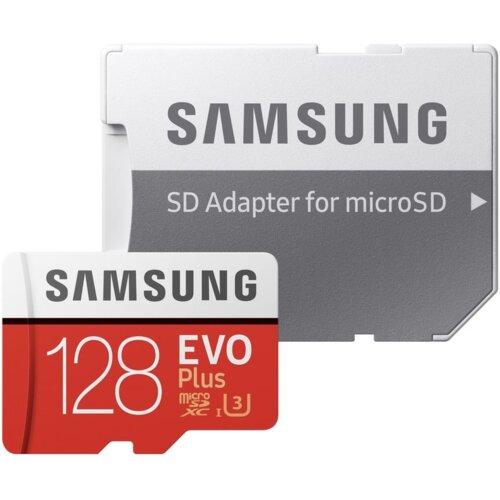 Karta pamięci SAMSUNG microSDXC Evo Plus 128GB (100/60MB/s)