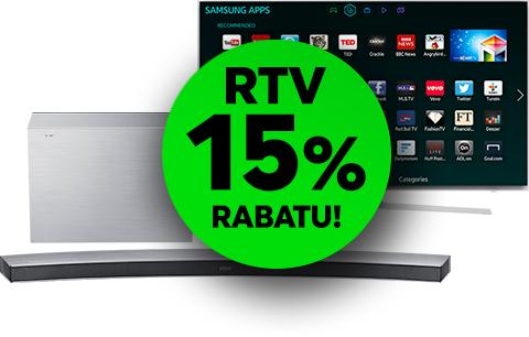 Weekendowe Rabaty -15% w Neonet na TV i AGD + rabat extra 50zł