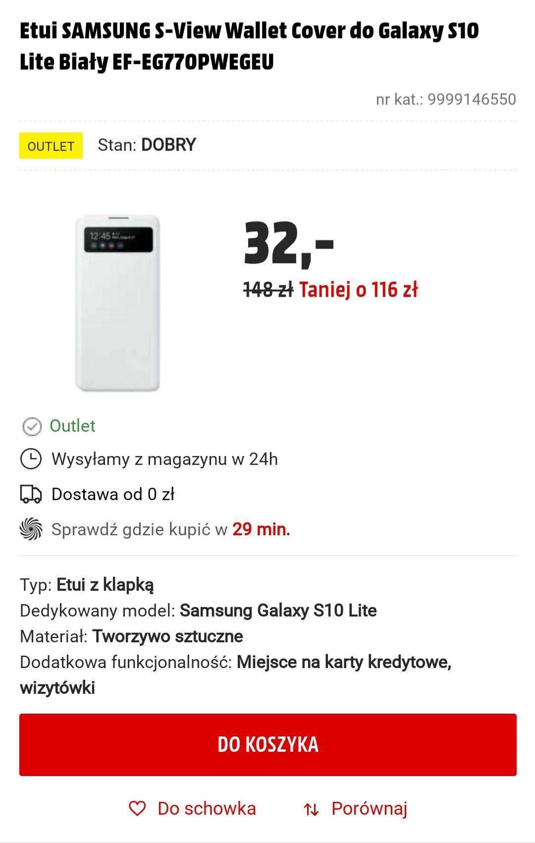 SAMSUNG Galaxy S10 Lite - kilka etui, MediaMarkt