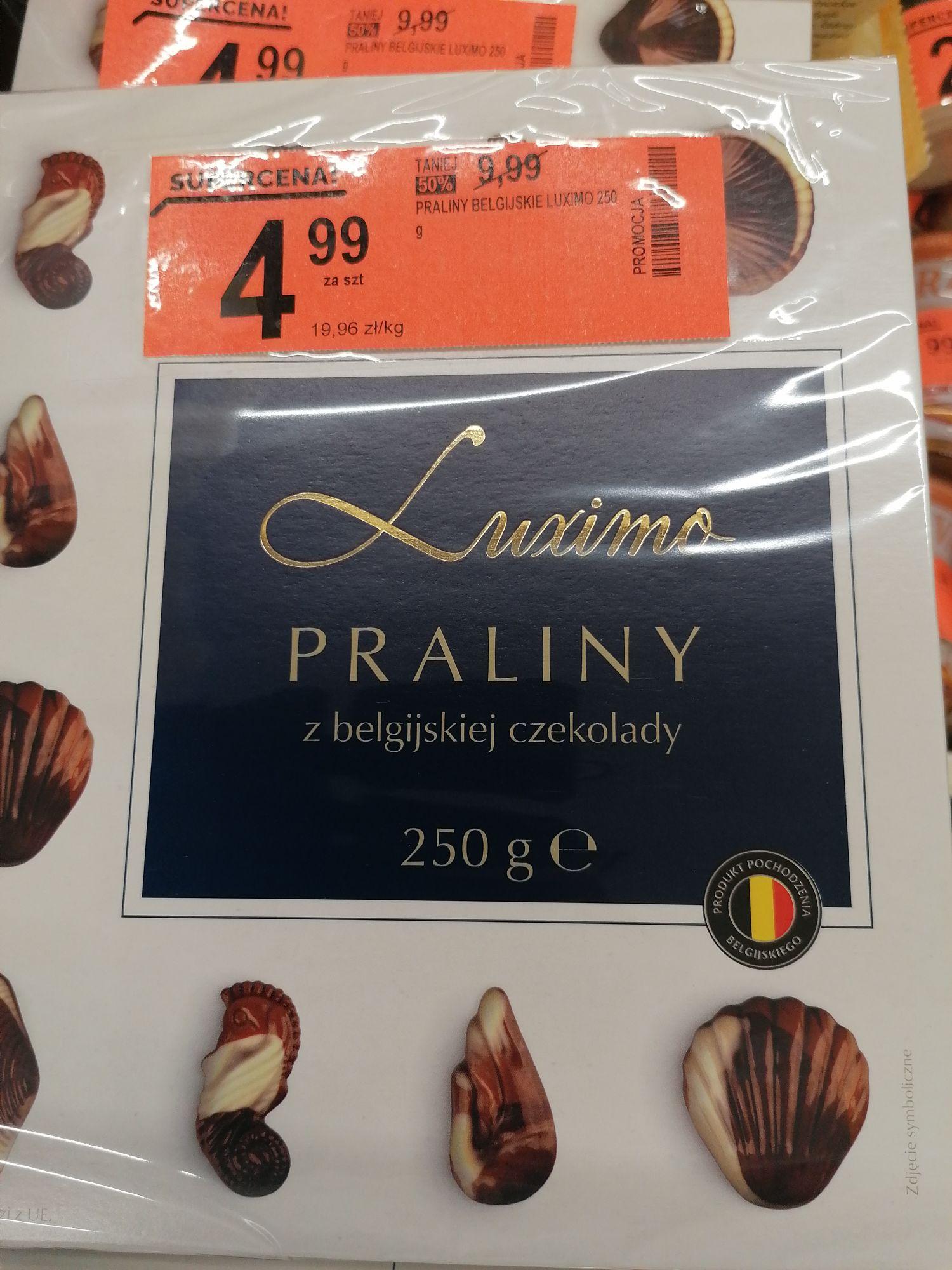 Biedronka. Praliny z czekolady belgijskiej