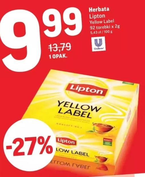 Herbata Lipton (92 torebki)- Intermarche