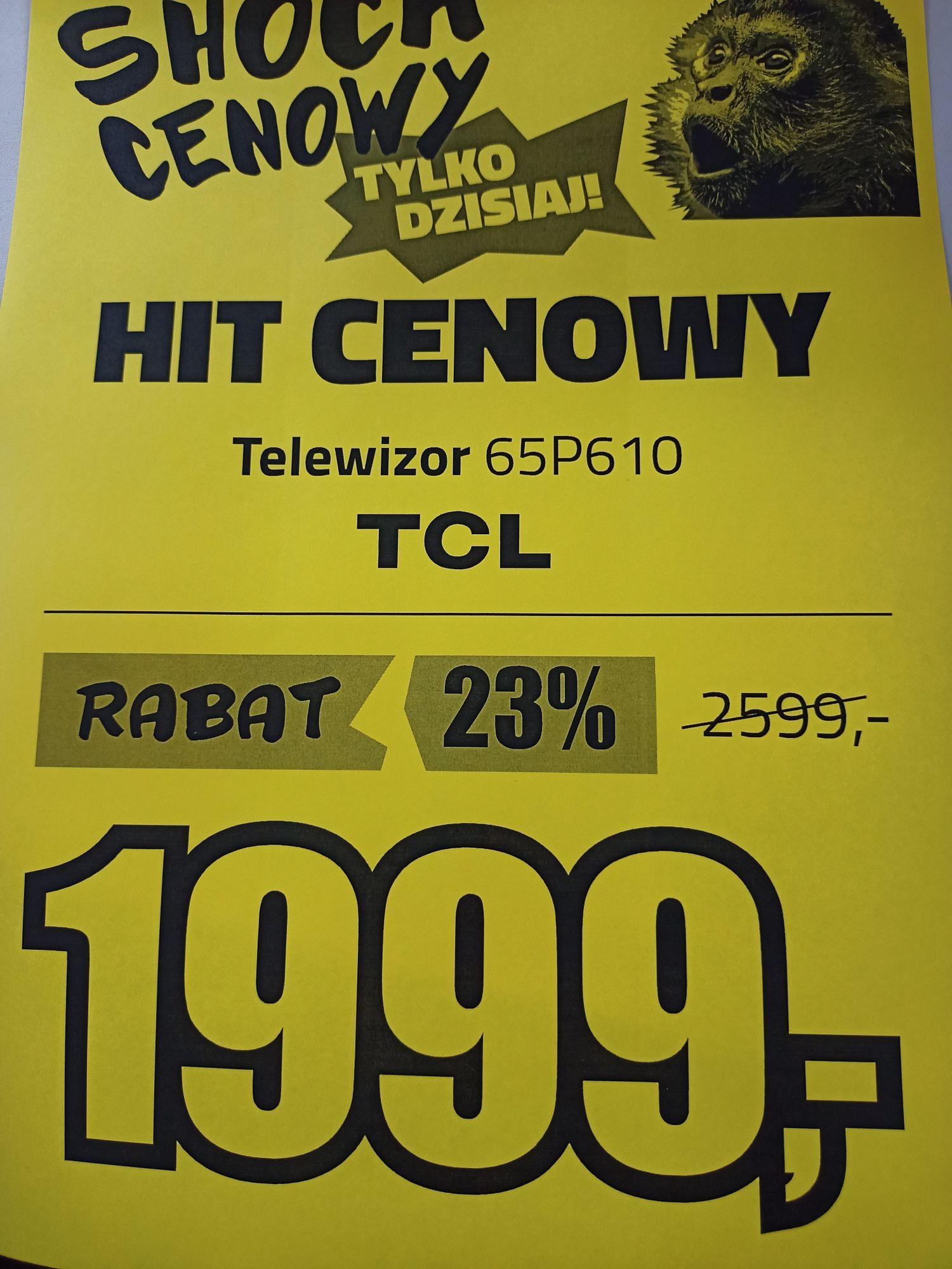 Telewizor TCL 65P610