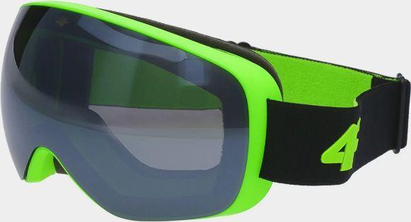 4f Gogle narciarskie/snowboardowe GGM060 zielone   Darmowa dostawa z MAX   Presto