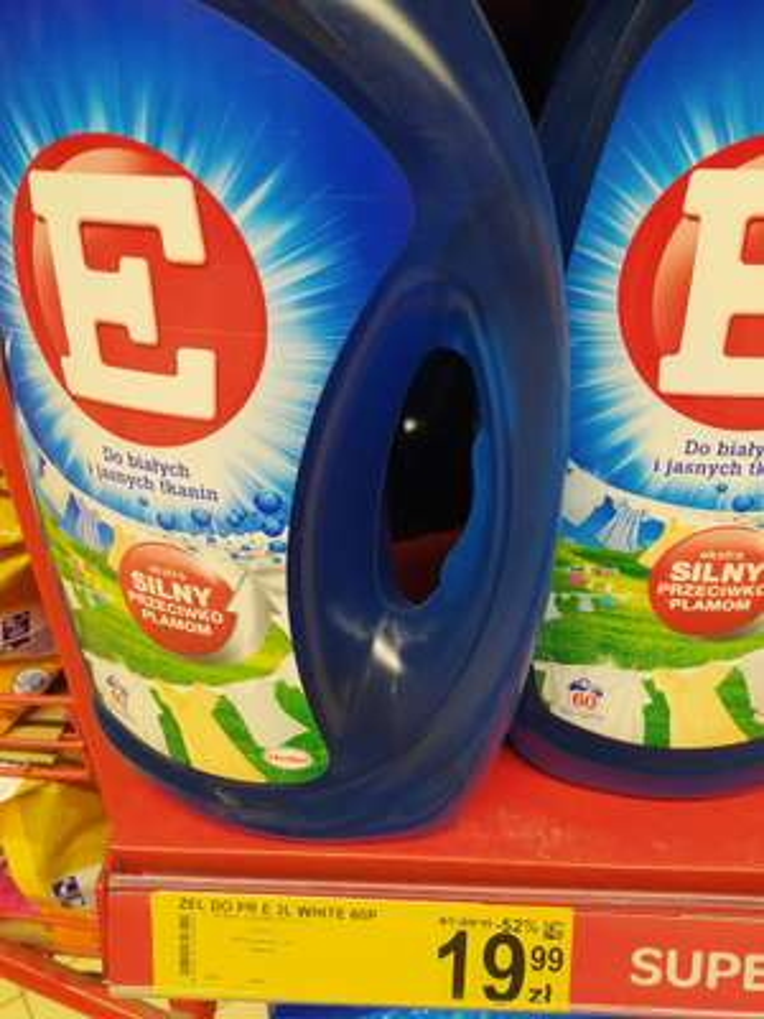 Carrefour Płyn do prania E do białego i do kolorów 3 litry 60 prań