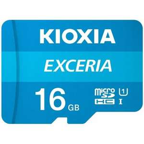 MEDIA EXPERT Karta pamięci KIOXIA Exceria microSDHC 16GB (Odbiór w sklepie 0zł )