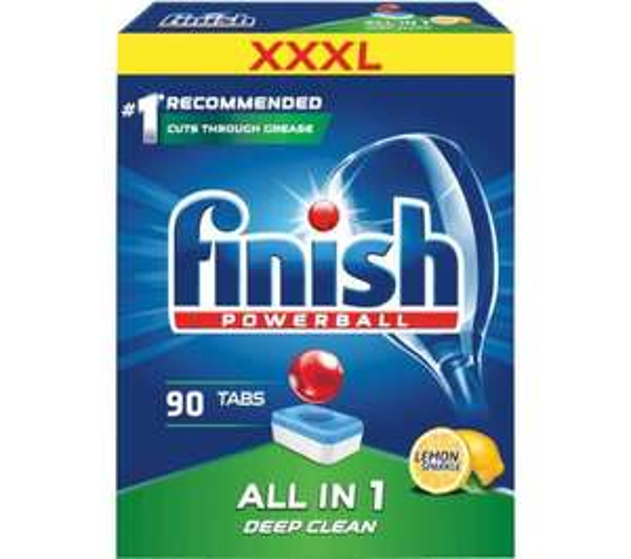 Tabletki do zmywarki Finish All in 1 Cytryna 90szt., odbiór w sklepie 0zł