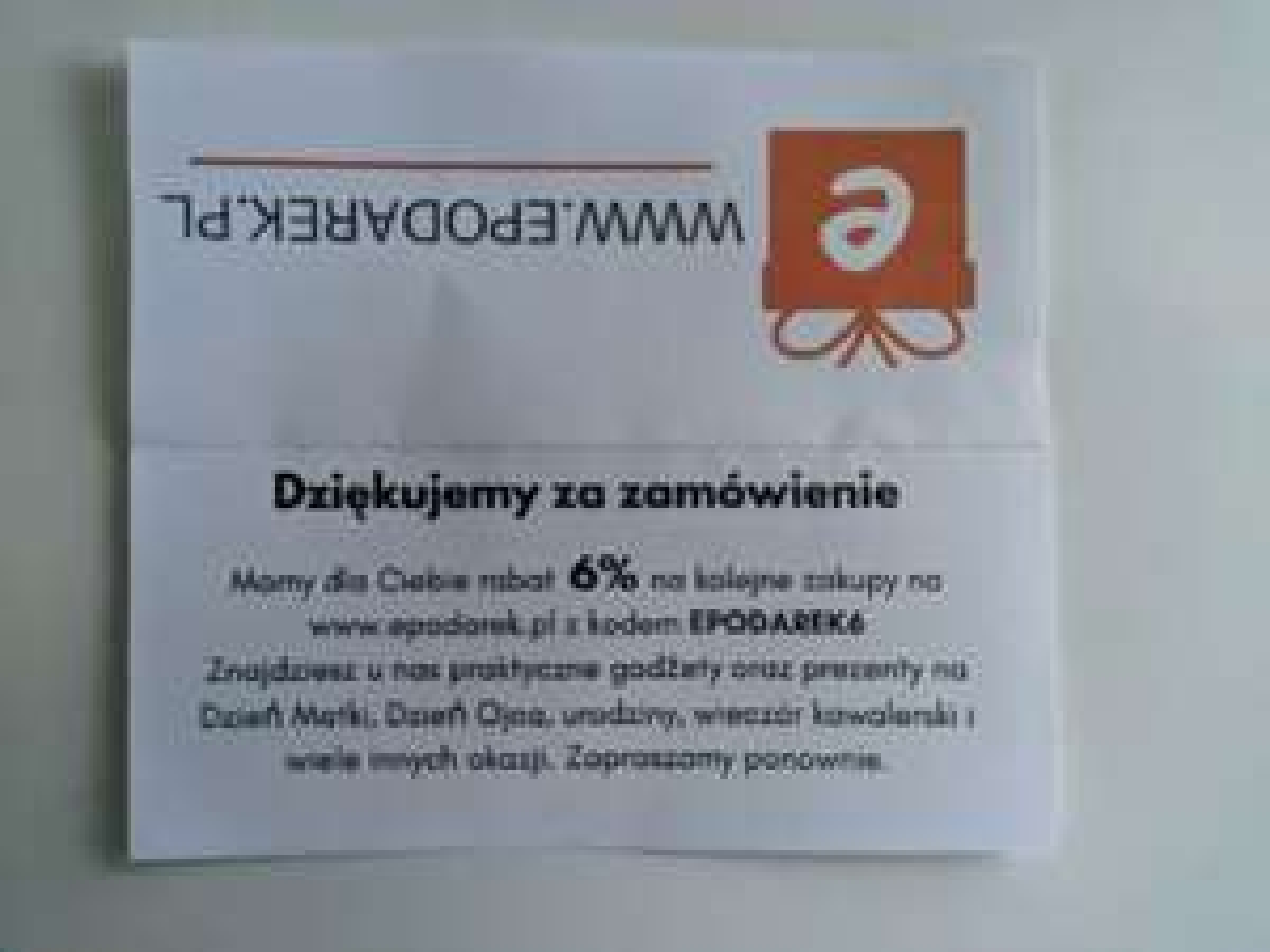Rabat 6% w sklepie Epodarek.pl