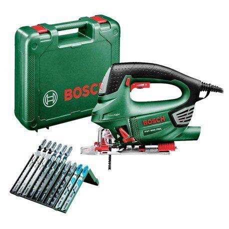 Wyrzynarka Bosch PST 900 PEL + 10 ostrzy + walizka
