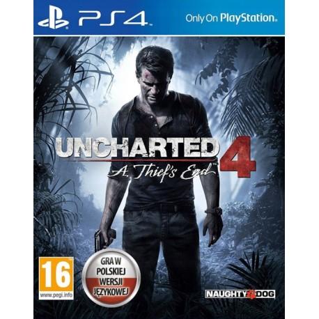 PS4 Uncharted 4 : Kres Złodzieja. Wersja pudełkowa