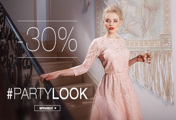 30% rabatu na odzież wieczorową i dodatki @ Butik