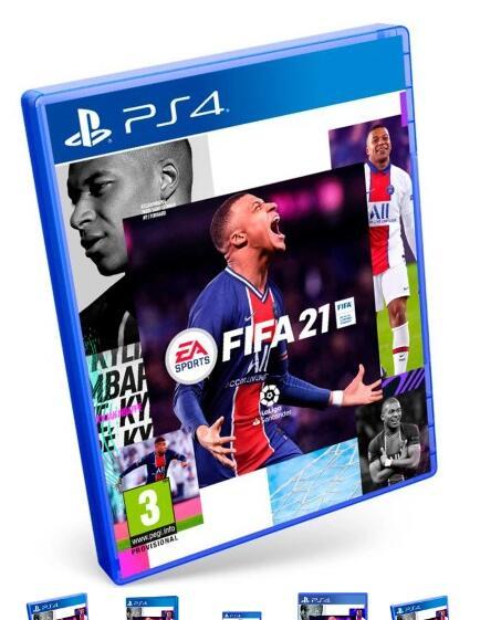 Gra FIFA 21 PS4 PS5 polska wersja DUBBING PL