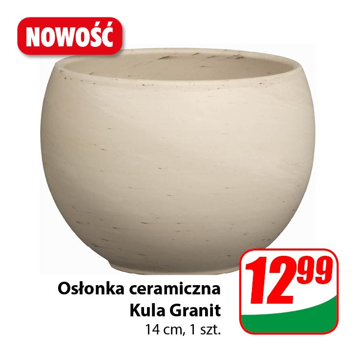 Doniczka ceramiczna Kula