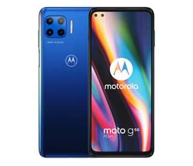 Smartfon Motorola Moto G 5G Plus 6/128GB Surfing Blue 90Hz @x-kom