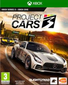 Project Cars 3 Xbox One i PS4
