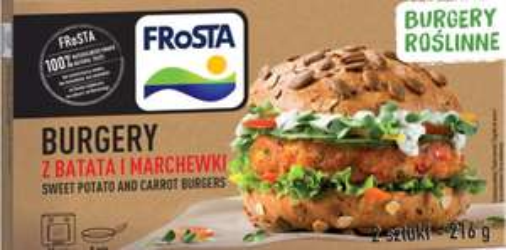 Frosta burgery roślinne Spar