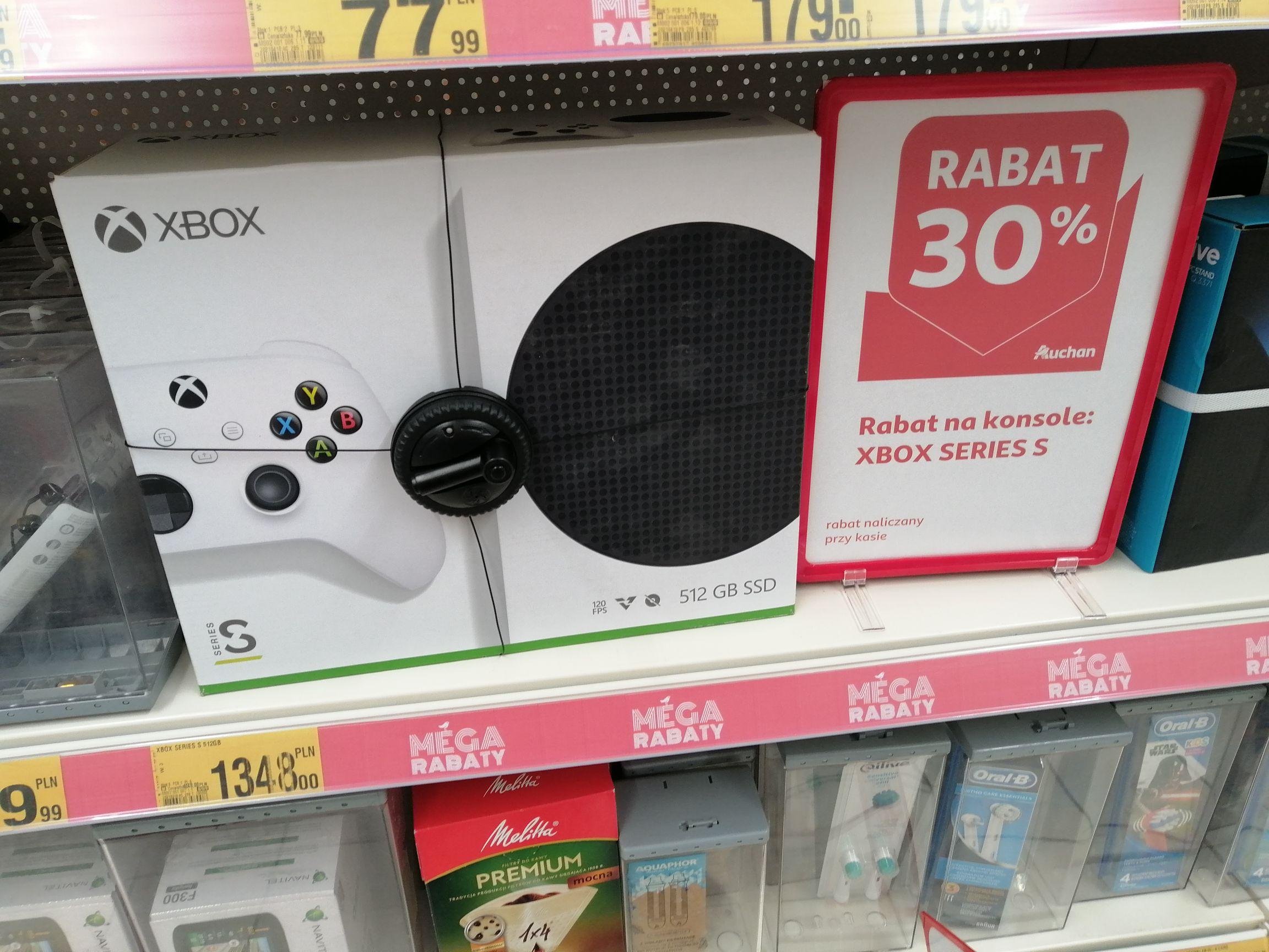 Konsola Xbox Series S @ Auchan
