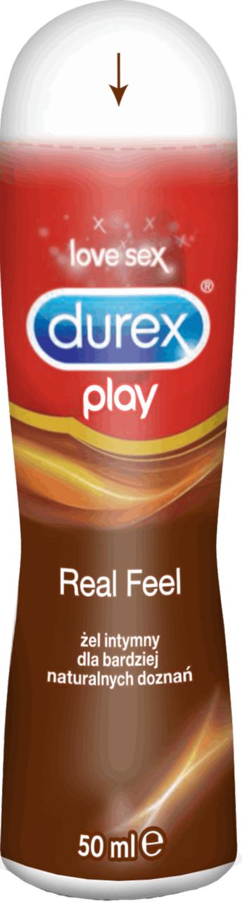 DUREX Play żel intymny dla bardziej naturalnych doznań, Real Feel 50 ml
