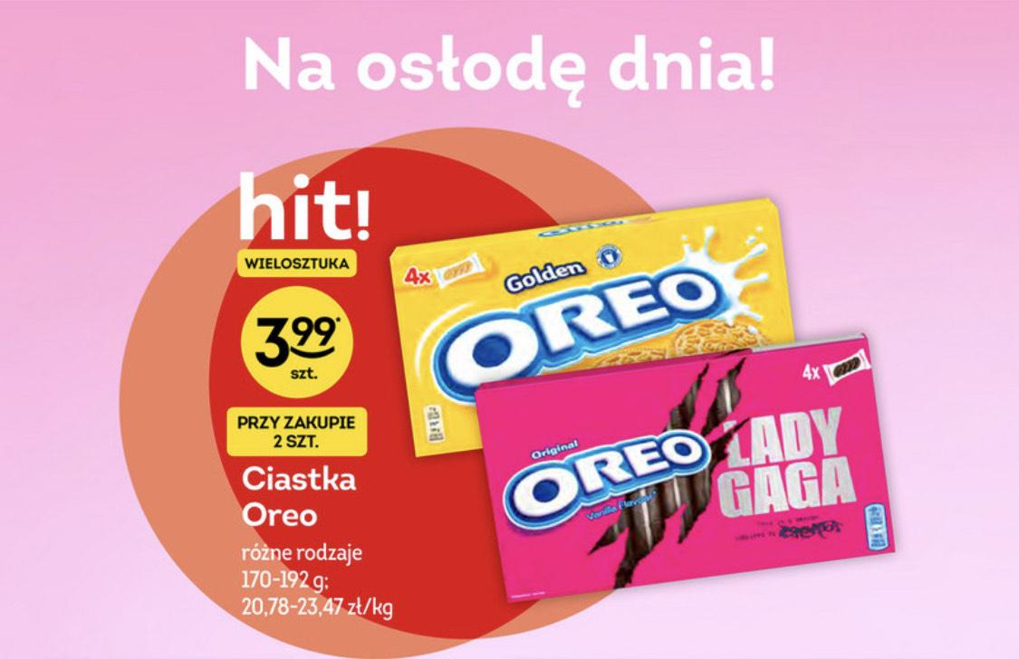 Ciastka Oreo Lady Gaga inspired by chromatica ŻABKA przy zakupie 2 opakowań
