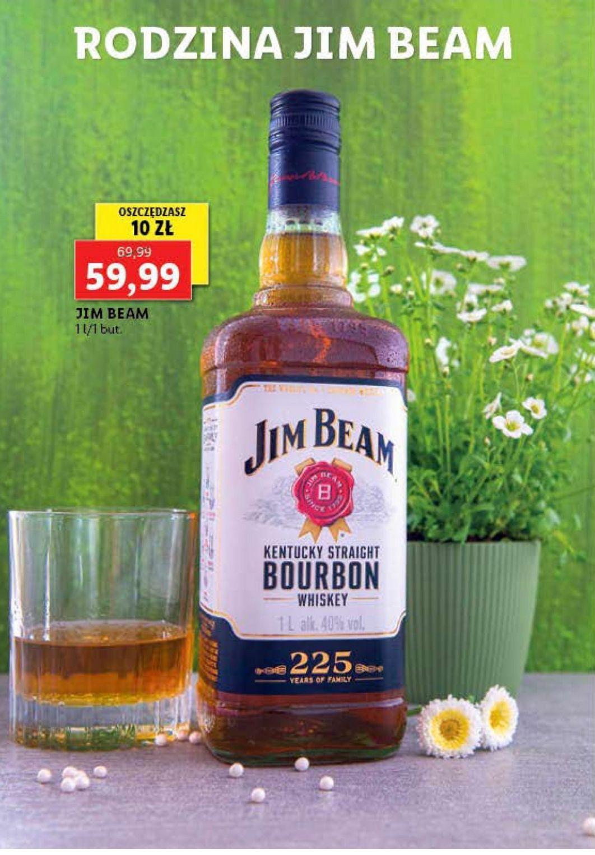 Jim Beam 1L @ Lidl i inne alkohole