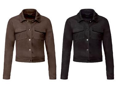 ESMARA kurtka damska - imitacja zamszu, czarna lub brązowa - r. 34-46 @Lidl