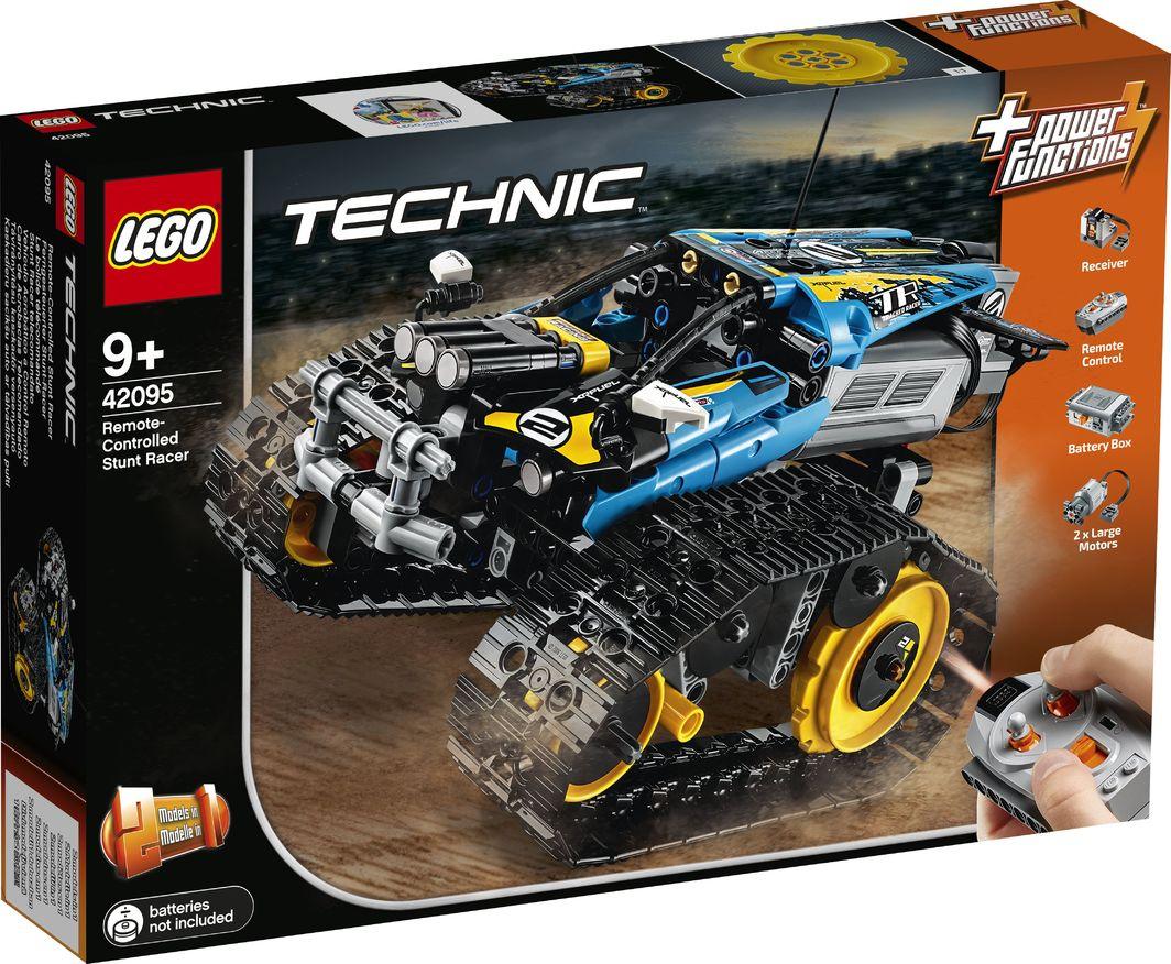 LEGO TECHNIC 42095 Sterowana wyścigówka kaskaderska na morele