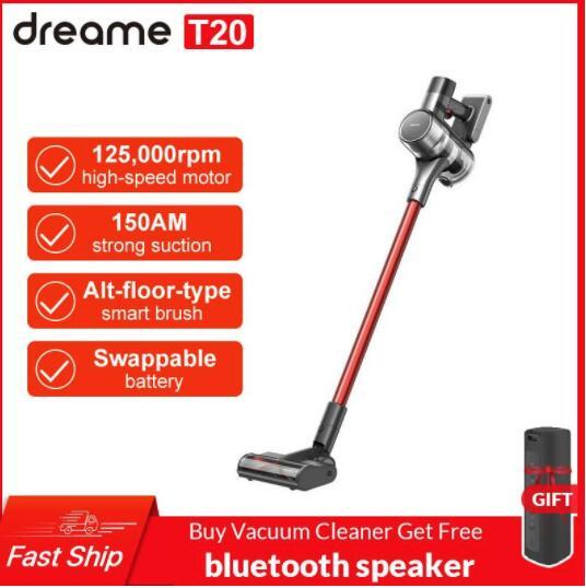 Odkurzacz pionowy Dreame T20 + głośnik Bluetooth (wysyłka z Polski) @Dhgate