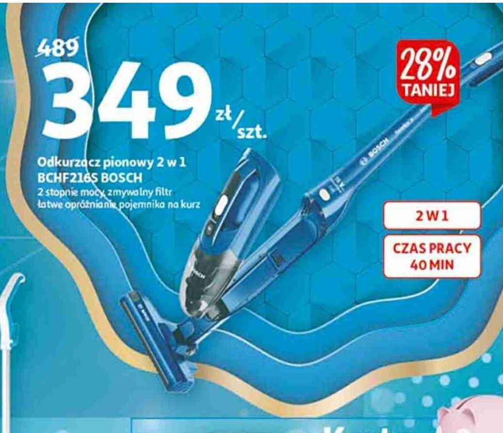 Odkurzacz pionowy Bosch 2w1 model BCHF216S w Auchan możliwe 324zł