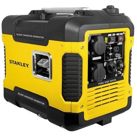 Inwerterowy agregat prądotwórczy Stanley SIG 1900S (1.6kW, 2x230V, 1x12V) @ Jula