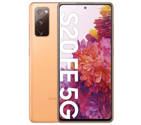Smartfon Samsung Galaxy S20 FE 5G (pomarańczowy) za 2749,- @RTV Euro AGD